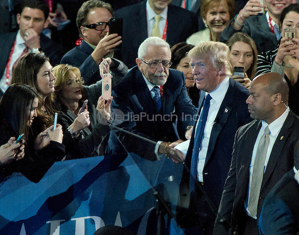 Businessman Donald J. Trump, a candidate for the Republican Party nomination for President of the United States, arrives to speak at the 2016 AIPAC Policy Conference at the Verizon Center in Washington, DC on Monday March 21, 2016.<br /> Credit: Ron Sachs / CNP/MediaPunch<br /> (RESTRICTION: NO New York or New Jersey Newspapers or newspapers within a 75 mile radius of New York City)