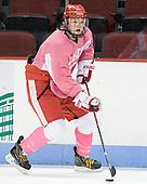 Jenn Wakefield (BU - 9) - The Boston University Terriers defeated the visiting Northeastern University Huskies 3-2 on Saturday, January 28, 2012, at Agganis Arena in Boston, Massachusetts.
