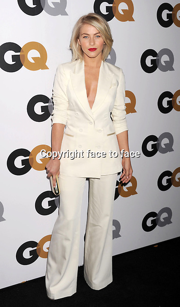 Julianne Hough (wearing a Temperley London white suit) arrives at the GQ Men Of The Year Party at Chateau Marmont Hotel on November 13, 2012 in Los Angeles, California. ..Credit: Mayer/face to face..- No Rights for USA and Canada -