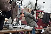 Car boot sale, Kilburn, London.