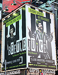 "Billboard for ""Beetlejuice"" in Times Square on August 22, 2019 in New York City."