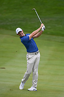 Rory McIlroy (NIR) hits his approach shot on 2 during 4th round of the World Golf Championships - Bridgestone Invitational, at the Firestone Country Club, Akron, Ohio. 8/5/2018.<br /> Picture: Golffile | Ken Murray<br /> <br /> <br /> All photo usage must carry mandatory copyright credit (© Golffile | Ken Murray)