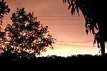Final de tarde com por do Sol - Paisagens brasileiras