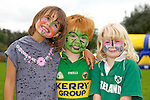 Pictured at the Tralee Rugby Club fun day on Saturday were Elsa Lawlor, Barry O'Sullivan, Evie Giles
