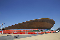 25.07.2012 London, England. The Olympic park velodrome in Stratford just two days before the official Opening Ceremony.