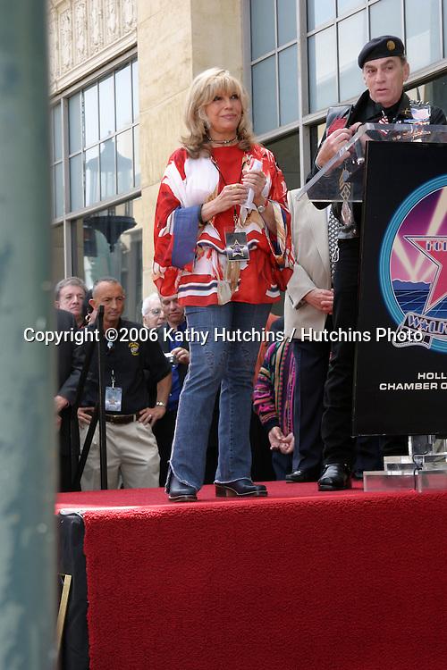 Nancy Sinatra.Nancy Sinatra receives a star on the Hollywood Walk of Fame.Los Angeles, CA.May 11, 2006.©2006 Kathy Hutchins / Hutchins Photo....