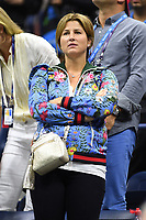 FLUSHING NY- AUGUST 29: Mirka Federer seen watching Roger Federer Vs Frances Tiafoe at the 2017 US Open Tennis at the USTA Billie Jean King National Tennis Center on August 29, 2017 in Flushing Queens. Credit: mpi04/MediaPunch ***NO NY DAILIES***