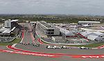 Formula 1 United States Grand Prix 2014, 31.10.-02.11.14<br /> Rennstart: Nico Rosberg(GER#6), Mercedes AMG Petronas F1 Team, Lewis Hamilton (GB#44), Mercedes AMG Petronas F1 Team, Felipe Massa (BRA#19), Williams Martini Racing, Valtteri Bottas (FIN#77), Williams Martini Racing<br /> Foto &copy; nordphoto /  Bratic