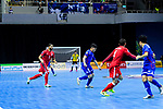 AFC Futsal Championship Chinese Taipei 2018 match between Chinese Taipei and Bahrain at  Xinzhuang Gymnasium on 01 February 2018 in Taipei, Taiwan. Photo by Marcio Rodrigo Machado / Power Sport Images