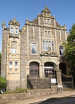 Workmen's Hall building, Blaenavon World Heritage town, Torfaen, Monmouthshire, South Wales, UK