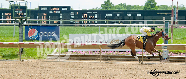 Ocala Son winning at Delaware Park on 6/15/13