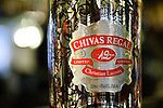 Chivas Regal bottle decorated by Christian Lacroix.
