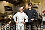 Stephen and Aidan Prenderville of Spúnóg Restaurant in Kilflynn
