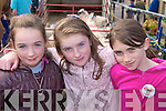 Chloe Kennedy, Ella Ashe, Anna Flannery enjoying the Fair in Annascaul on Sunday