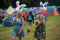 Festival goers enjoy  the Wilderness Festival in Oxfordshire, August 4, 2017. <br /> CAP/CAM<br /> &copy;Andre Camara/Capital Pictures