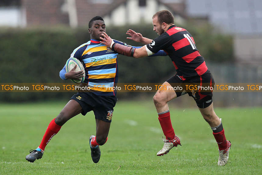 Old Cooperians RFC vs Campion RFC - Essex League Division One Rugby at Coopers Coborn and Company School - 20/10/12 - MANDATORY CREDIT: Gavin Ellis/TGSPHOTO - Self billing applies where appropriate - 0845 094 6026 - contact@tgsphoto.co.uk - NO UNPAID USE