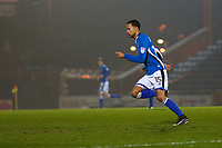 Rochdale's Joe Thompson makes his comeback from cancer during the Sky Bet League 1 match between Rochdale and Walsall at Spotland Stadium, Rochdale, England on 23 December 2017. Photo by Juel Miah / PRiME Media Images.