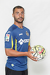 Mehdi Lacen poses during official La Liga 2015-16 photo session in Madrid, Spain. July 24, 2015. (ALTERPHOTOS/Victor Blanco)