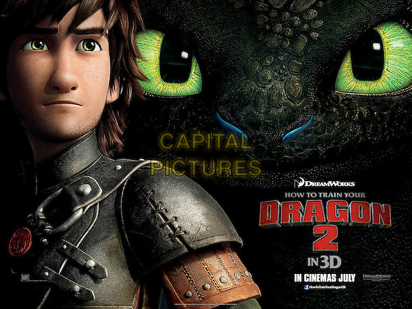 POSTER ART<br /> in How to Train Your Dragon 2 (2014) <br /> *Filmstill - Editorial Use Only*<br /> CAP/NFS<br /> Image supplied by Capital Pictures