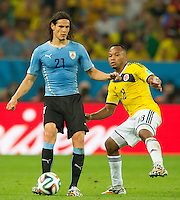 Colombia vs Uruguay, June 28, 2014