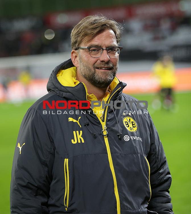 31.01.2015, BayArena, Leverkusen, GER, 1. FBL, Bayer 04 Leverkusen vs Borussia Dortmund<br /> Trainer J&uuml;rgen Klopp (Dortmund)<br /> Foto &copy; nordphoto /  Bratic
