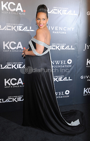 New York, NY- October 30: Alicia Keys attends Keep a Child Alive's 11Annual Black Ball at Hammerstein Ballroom on October 30, 2014 in New York City. Credit: John Palmer/MediaPunch