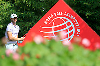 Kevin Tway (USA) on the 2nd tee during the 3rd round of the WGC HSBC Champions, Sheshan Golf Club, Shanghai, China. 02/11/2019.<br /> Picture Fran Caffrey / Golffile.ie<br /> <br /> All photo usage must carry mandatory copyright credit (© Golffile | Fran Caffrey)
