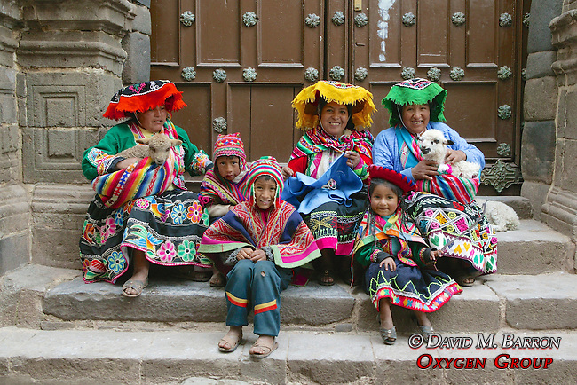People In Traditional Dress