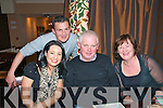 Family Xmas Party: Enjoying a family night out at the Horseshoe Bar 7 Restaurant, Listowel were Michelle O'Sullivan, Owen Costello, Mike &  Margaret O'Sullivan, Glin.