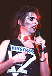 Alice Cooper 1981.© Chris Walter.