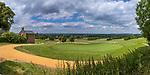Margraten  - Panorama Green hole 9 .  met bidkapel en Lourdesgrot (l) . Rijk van Margraten.  COPYRIGHT KOEN SUYK