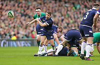 Saturday 10th March 2018 |  Ireland vs Scotland<br /> <br /> Greig Laidlaw during the NatWest 6 Nations clash between Ireland and Scotland at the Aviva Stadium, Lansdowne Road, Dublin, Ireland. Photo by John Dickson / DICKSONDIGITAL