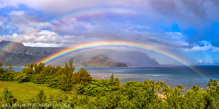 Rainbow over Bali Hai