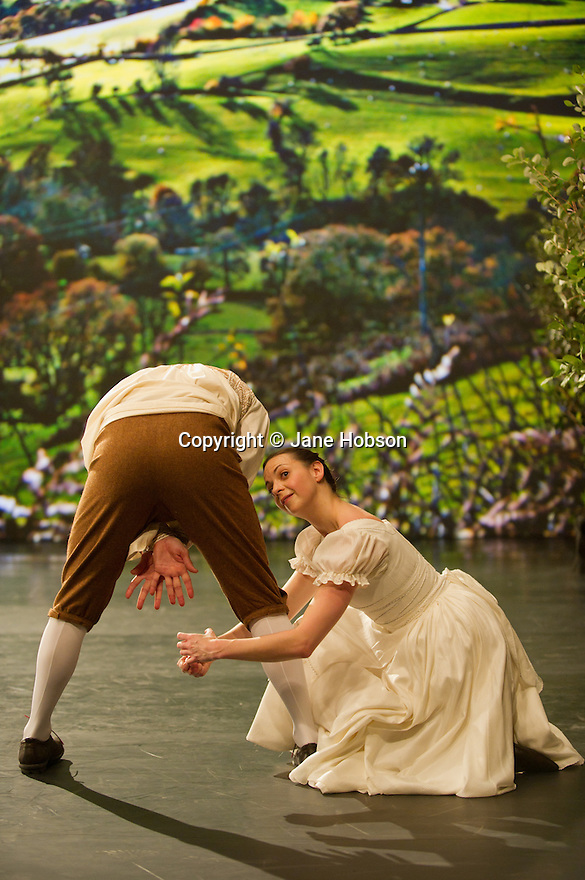 """London, UK. 03/12/11. """"Matthew Bourne's Christmas"""" is filmed at Ealing Studios. The show comprises extracts of nine of his finest works over his 25 year career. Picture shows an extract from """"Town & Country"""". Dancers are: Chris Marney, Kerry Biggin, Noi Tolmer and Dominic North."""