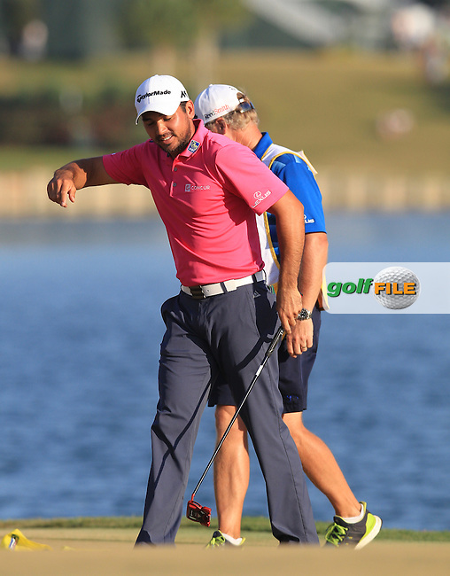 Jason Day (AUS) and Caddie Colin Swatton Champion of The Players 2016 , TPC Sawgrass, Ponte Vedra Beach, Jacksonville.   Florida, USA. 15/05/2016.<br /> Picture: Golffile | Mark Davison<br /> <br /> <br /> All photo usage must carry mandatory copyright credit (&copy; Golffile | Mark Davison)