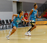 29th November 2019; Bendat Basketball Centre, Perth, Western Australia, Australia; Womens National Basketball League Australia, Perth Lynx versus Southside Flyers; Leilani Mitchell of the Southside Flyers dribbles the ball from the back court - Editorial Use