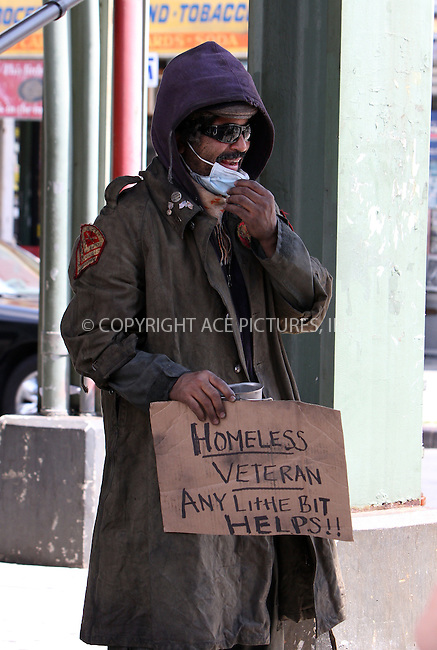 WWW.ACEPIXS.COM . . . . .  ....August 6 2012, New York City....Actor Jeffrey Wright plays a homless vet on the set of 'The Inevitable Defeat of Mister and Pete' on August 6 2012 in New York City......Please byline: Zelig Shaul - ACE PICTURES.... *** ***..Ace Pictures, Inc:  ..Philip Vaughan (212) 243-8787 or (646) 769 0430..e-mail: info@acepixs.com..web: http://www.acepixs.com