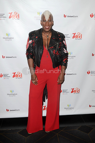 HOLLYWOOD, CA - MAY 17: Liv Warfield at the American Heart Association's 3rd Annual Rock The Red Music Benefit at Avalon in Hollywood, California on May 17, 2018. Credit: David EdwardsMediaPunch