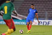 June 8th 2017, Créteil, France, U-21 International football friendly, France versus Cameroon;  Abdou Diallo (fra)