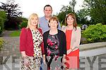 Trisha Leahy, Paudie Sheehan, Mary Leahy and Johanna Curtin from Glin and Moyvane at the Big Bus BBQ in aid of Keerry Cancer Support Group in the Pavillon Ballygary House Hotel on Sunday