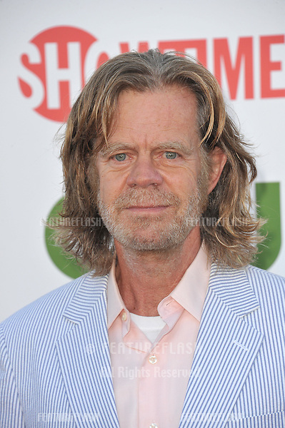 William H. Macy, star of Shameless, at the CBS Summer 2011 TCA Party at The Pagoda, Beverly Hills..August 3, 2011  Los Angeles, CA.Picture: Paul Smith / Featureflash