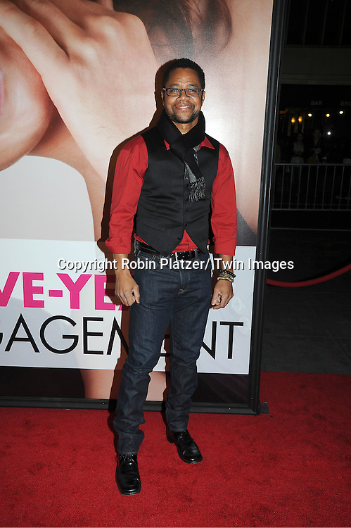 """Cuba Gooding, Jr arrives to The World Premiere of """" The Five-Year Engagement"""" at the opening night of The Tribeca Film Festival at the Ziegfeld Theatre in New York City on ..April 18, 2012."""