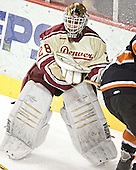 Glenn Fisher - The Princeton University Tigers defeated the University of Denver Pioneers 4-1 in their first game of the Denver Cup on Friday, December 30, 2005 at Magness Arena in Denver, CO.