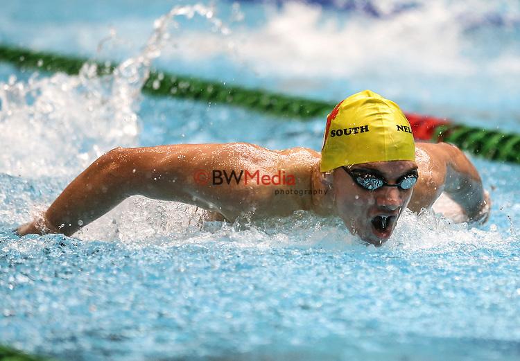 Action during the Swimming NZ, National Age Group Championships, Wellington Regional Aquatic Centre, Kilbirnie, Wellington, Friday 22 April 2016. Photo: Simon Watts/www.bwmedia.co.nz