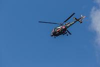 France, Bretagne, (29), Finistère, Brest:   Base Navale et Arsenal de Brest, hélicoptére de la marine