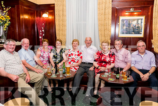 Seen at The Manor Inn, Killrglin on Saturday night at the Callinafercy Rowing Club Annual Fundraising Dance<br /> L-R Gerry Clifford, John Walshe, Margaret Walshe, Joan Clifford, Ann O'Shea, Tim O'SheaEileen Clifford, Kenny Clifford & Patrick Sullivan.