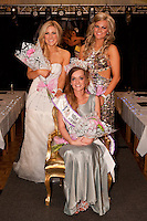 The new Miss Mansfield & Sherwod Forest, Grace Turner with 1st runner-up Rebecca McAllister and 2nd runner-up Sadie Hart (right)