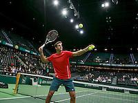 13-02-14, Netherlands,Rotterdam,Ahoy, ABNAMROWTT, Juan-Martin Del Potro(ARG)<br /> Photo:Tennisimages/Henk Koster
