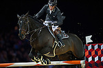 Philippe Rozier on Unpulsion de la Hart competes during the AirbusTrophy at the Longines Masters of Hong Kong on 20 February 2016 at the Asia World Expo in Hong Kong, China. Photo by Juan Manuel Serrano / Power Sport Images
