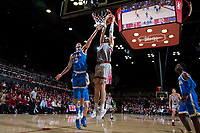 Stanford, CA - January 4, 2018. Stanford Men's Basketball vs UCLA. Final Score Sanford 107, UCLA 99.